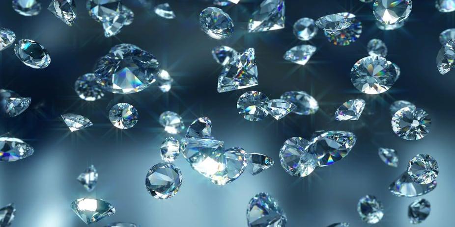 Sustainably Sourced Diamonds.