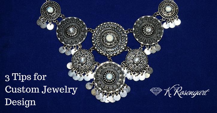 Custom Jewelry Design   K. Rosengart