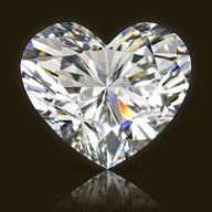 Heart Diamond Shape | K. Rosengart