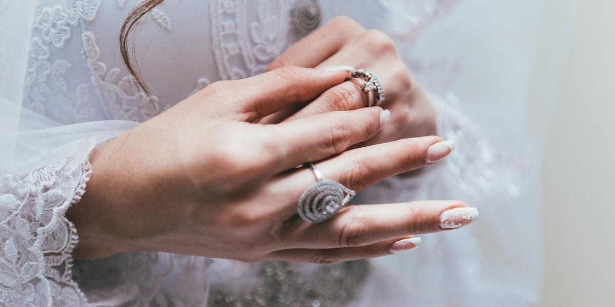 Vintage Style Jewelry | White Gold Custom Jewelry | K. Rosengart