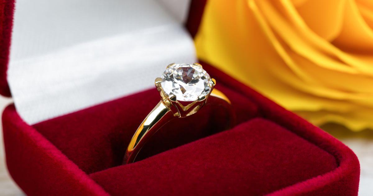 high setting vs. low setting engagement rings, low profile engagement rings | K. Rosengart